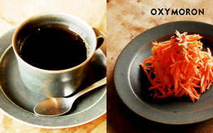 "tableware for ""OXYMORON"" 再入荷"