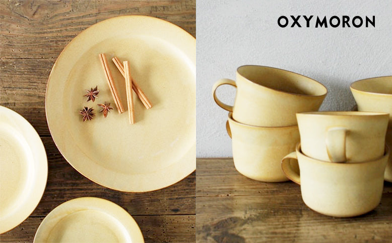 "tableware for ""OXYMORON""再入荷"