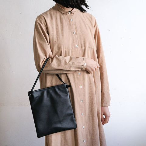 [TIDI DAY AND AUGUST]FLAT BAG WITH TOTE