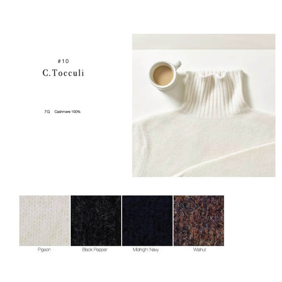 【shed受注商品】カシミヤセーター「C.Tocculi」
