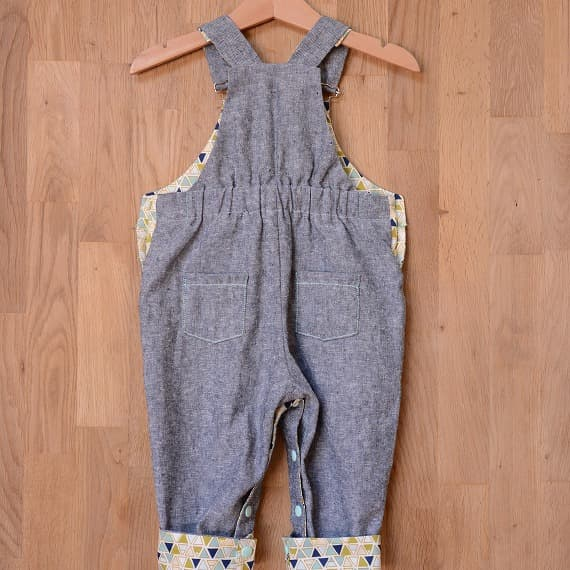 two stitcesパターン「frankie dungarees」
