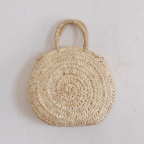 【かご展】[CASTELLA NOTE]Palm Basket rurojo