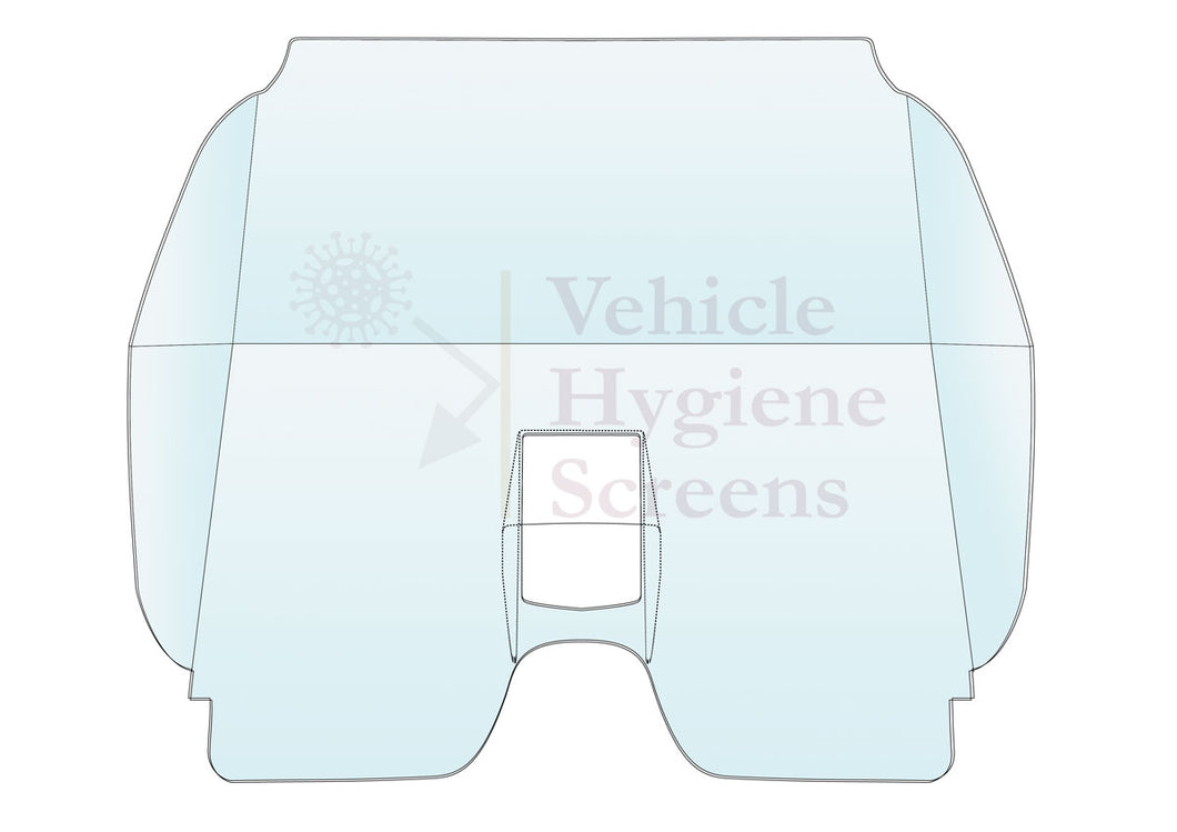 Vehicle Hygiene Screen - To Fit your Vehicle (Non Stock Item)