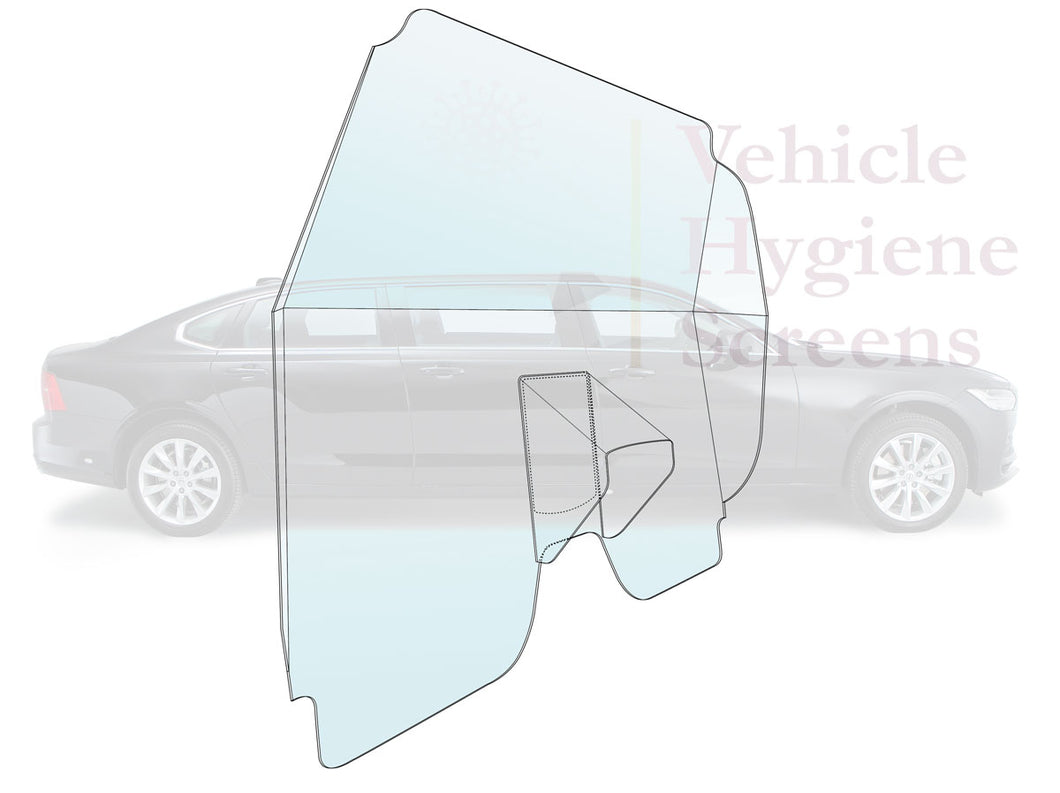 Volvo S90 Limousine Vehicle Hygiene Screen