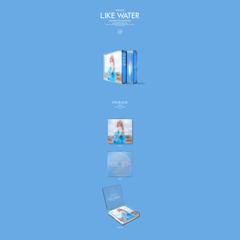 Wendy - 1st Mini Album - Like Water - Case Version