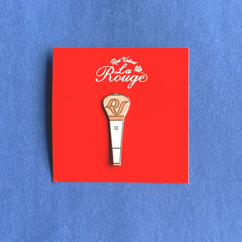 RED VELVET - Official Merchandise - La Rouge Fan Light Badge