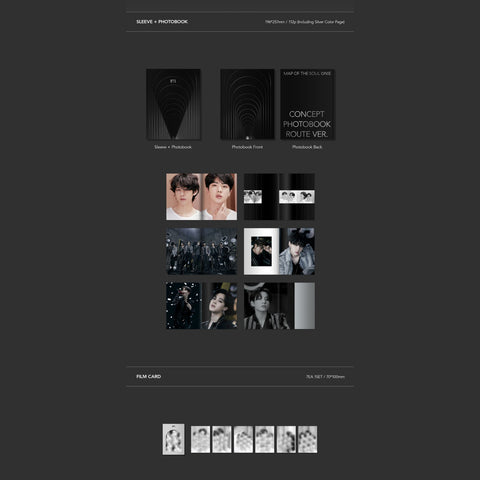[PRE-ORDER] BTS - MAP OF THE SOUL ON:E CONCEPT PHOTO BOOK