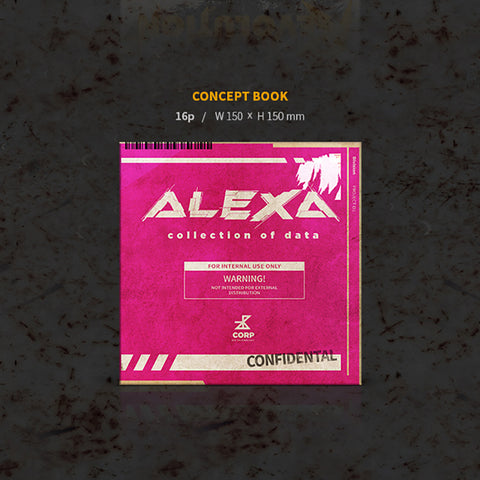 ALEXA - 2nd Mini Album - DECOHERENCE