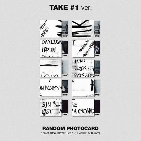 MINO - 2nd Full Album - TAKE