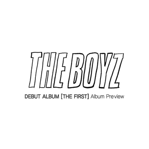 THE BOYZ - 1st MINI ALBUM - THE FIRST