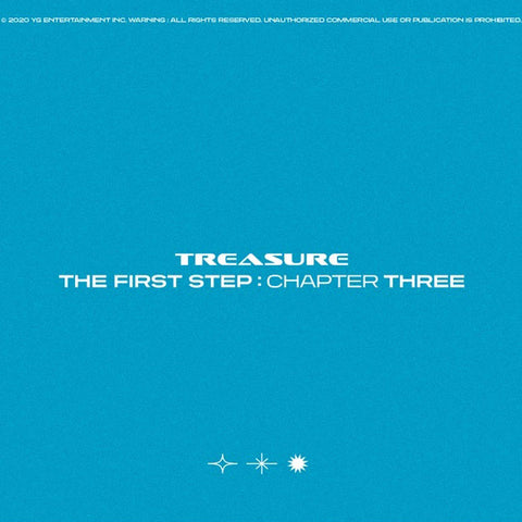 TREASURE - 3rd Single Album - THE FIRST STEP : CHAPTER THREE