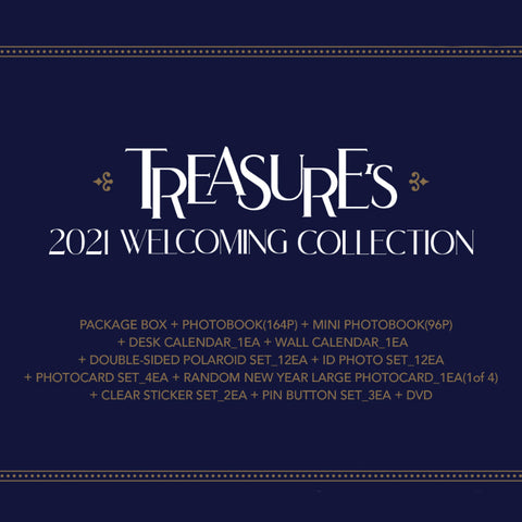 TREASURE - WELCOMING COLLECTION - 2021