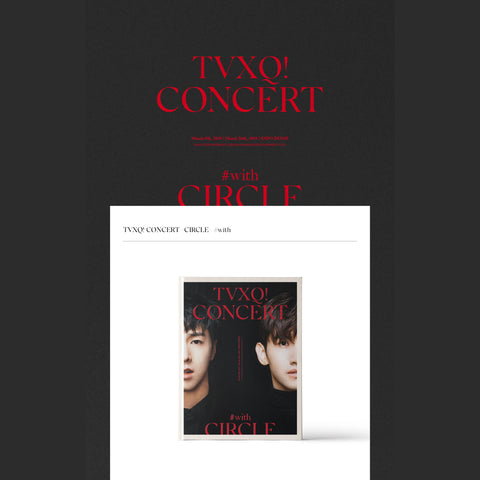 TVXQ - CONCERT - Circle #with