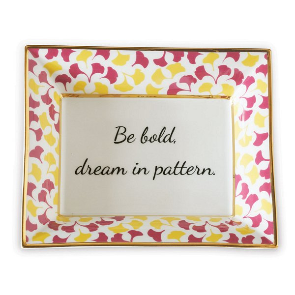 Be Bold Plate