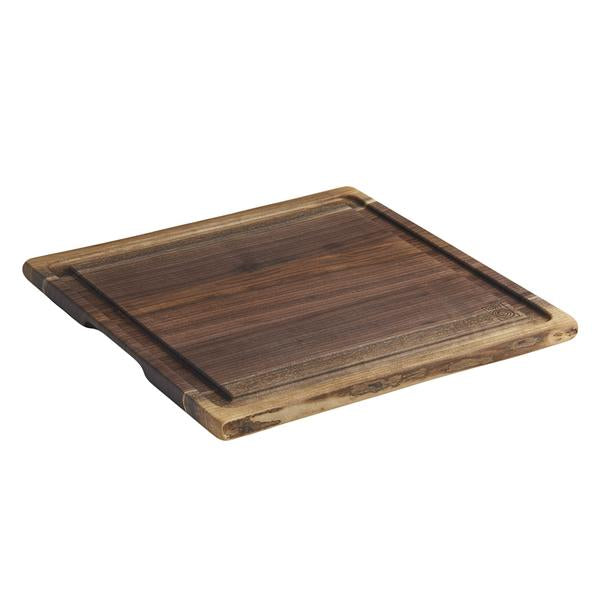Cutting Board w/ Juice Tray, Black Walnut