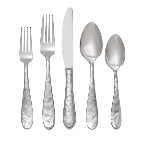 Cast Iron 5-Piece Flatware Set