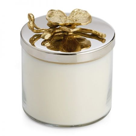 Golden Orchid Candle