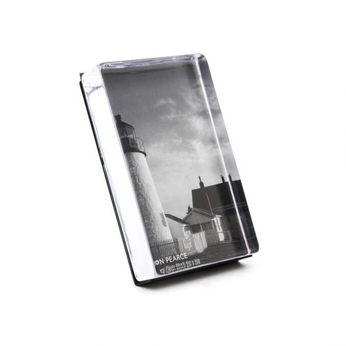 Woodbury  Vertical 6x4 Photo Block, Gift Boxed