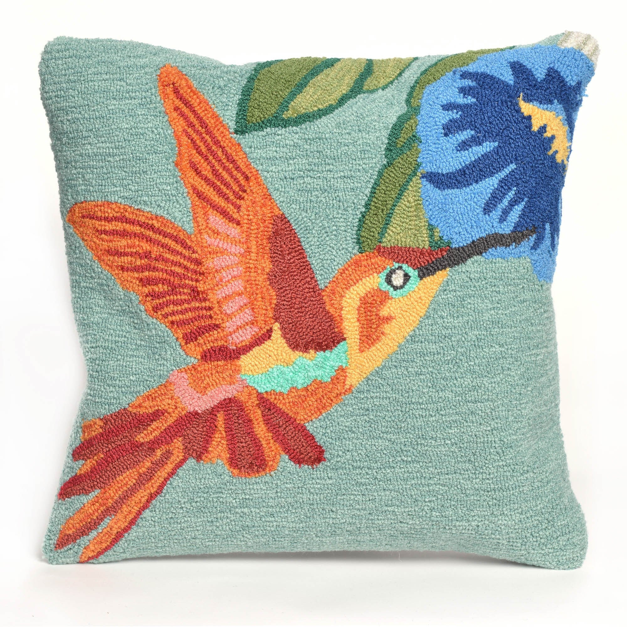 Hummingbird Sky Pillow