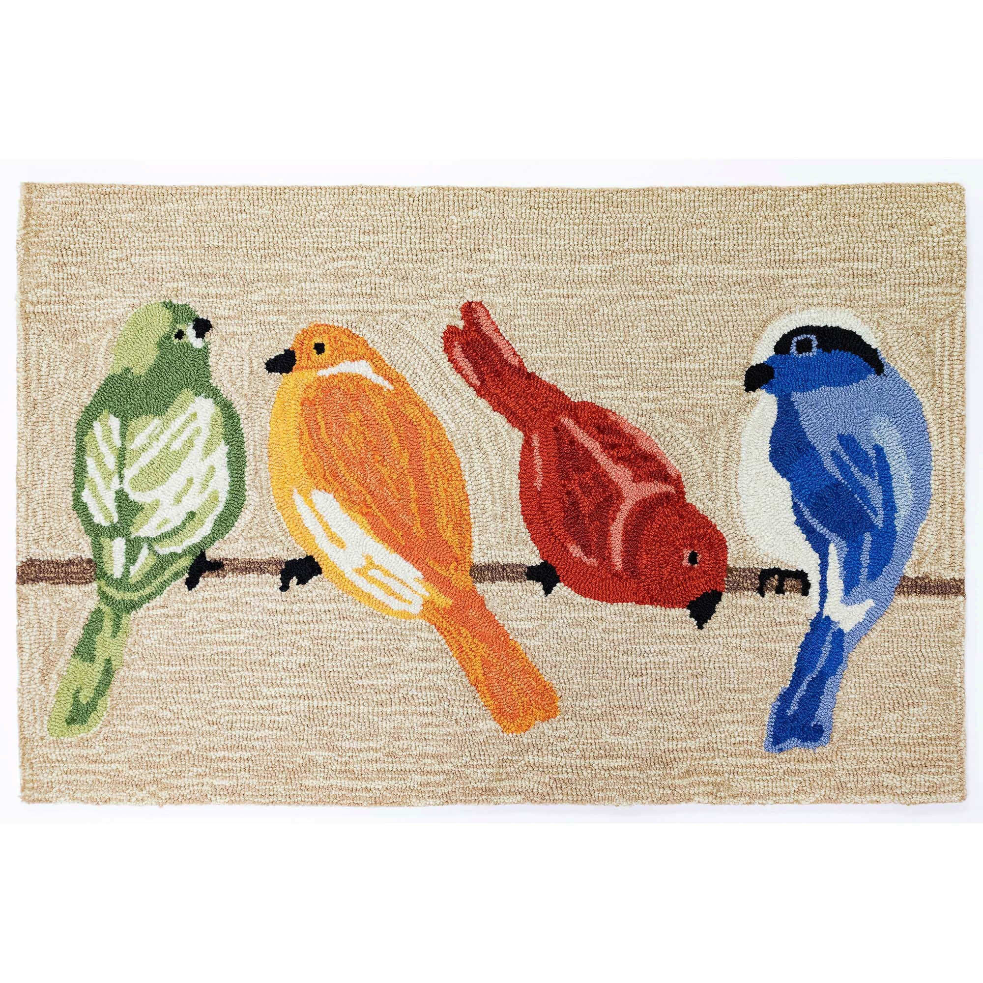 Birds Neutral Mat 24x36