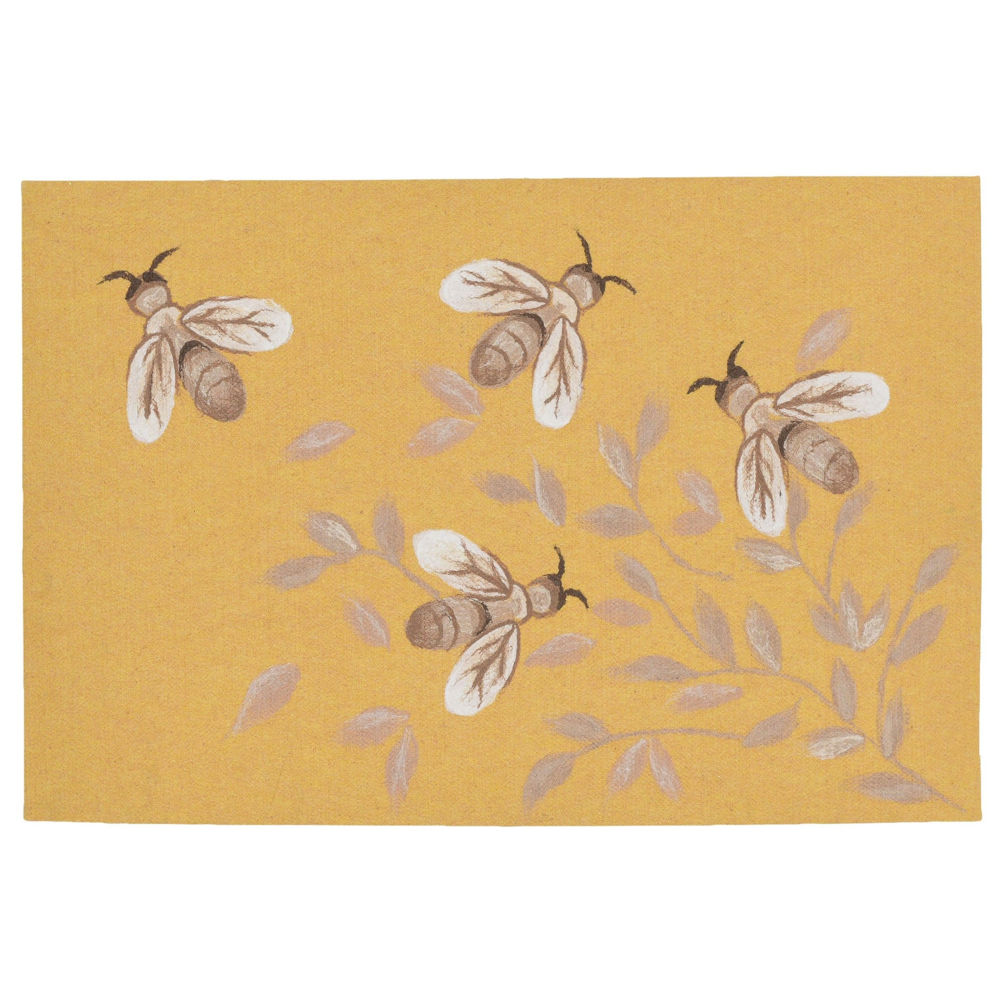 Bees Honey Mat 19.5 x 29.5