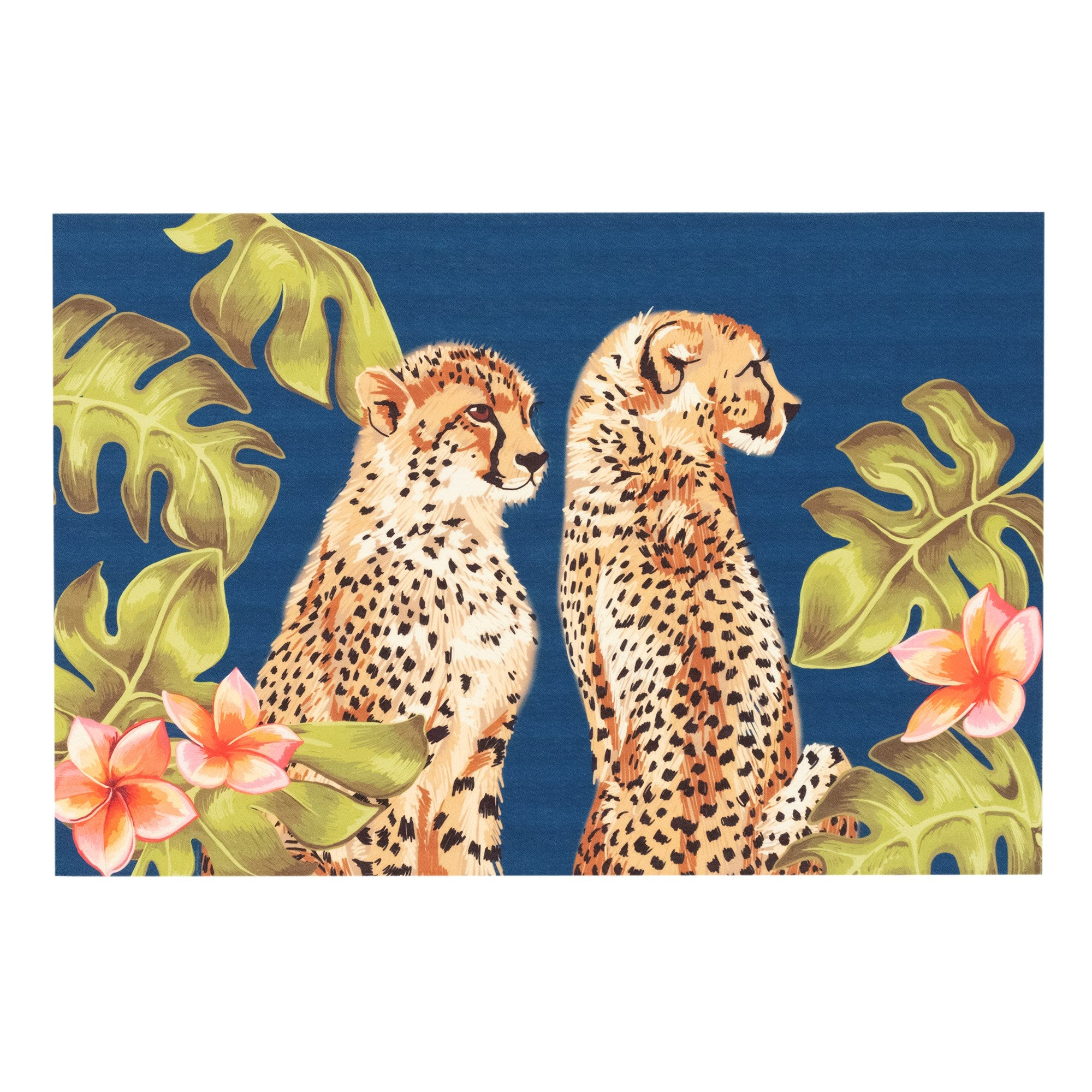 Cheetahs Jungle Mat 19.5 x 29.5