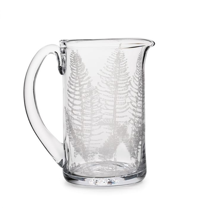 Engraved Fern Ascutney Pitcher- M