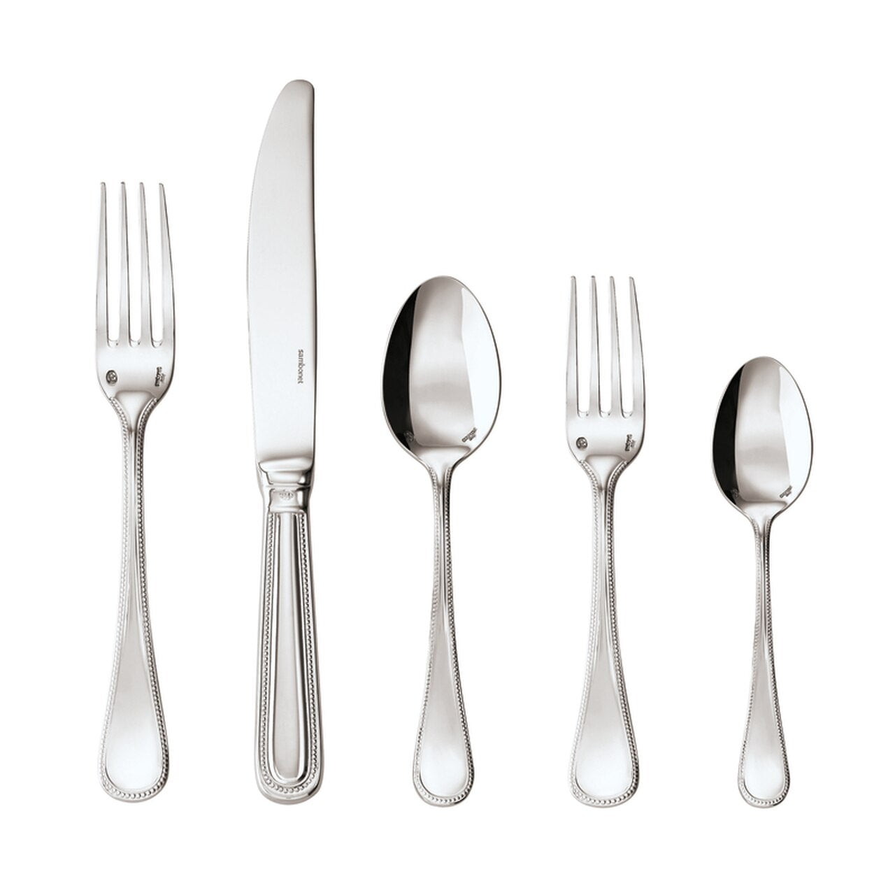 Perles 5 Piece Place Setting
