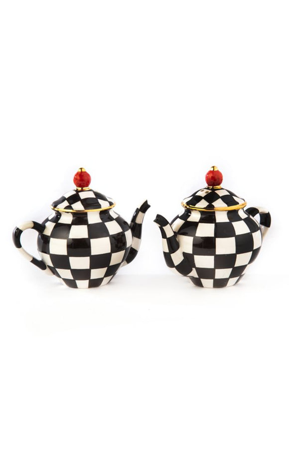 Teapot Salt & Pepper Shaker Set