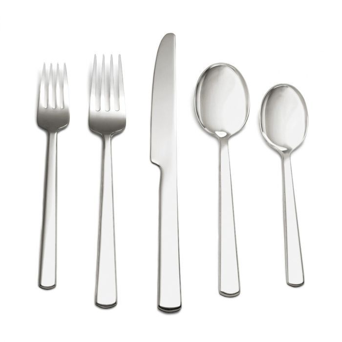 Hanover 5-Piece Flatware Setting