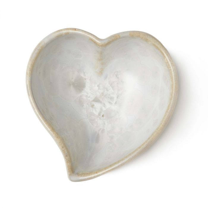 Crys Twist Heart Bowl Candent