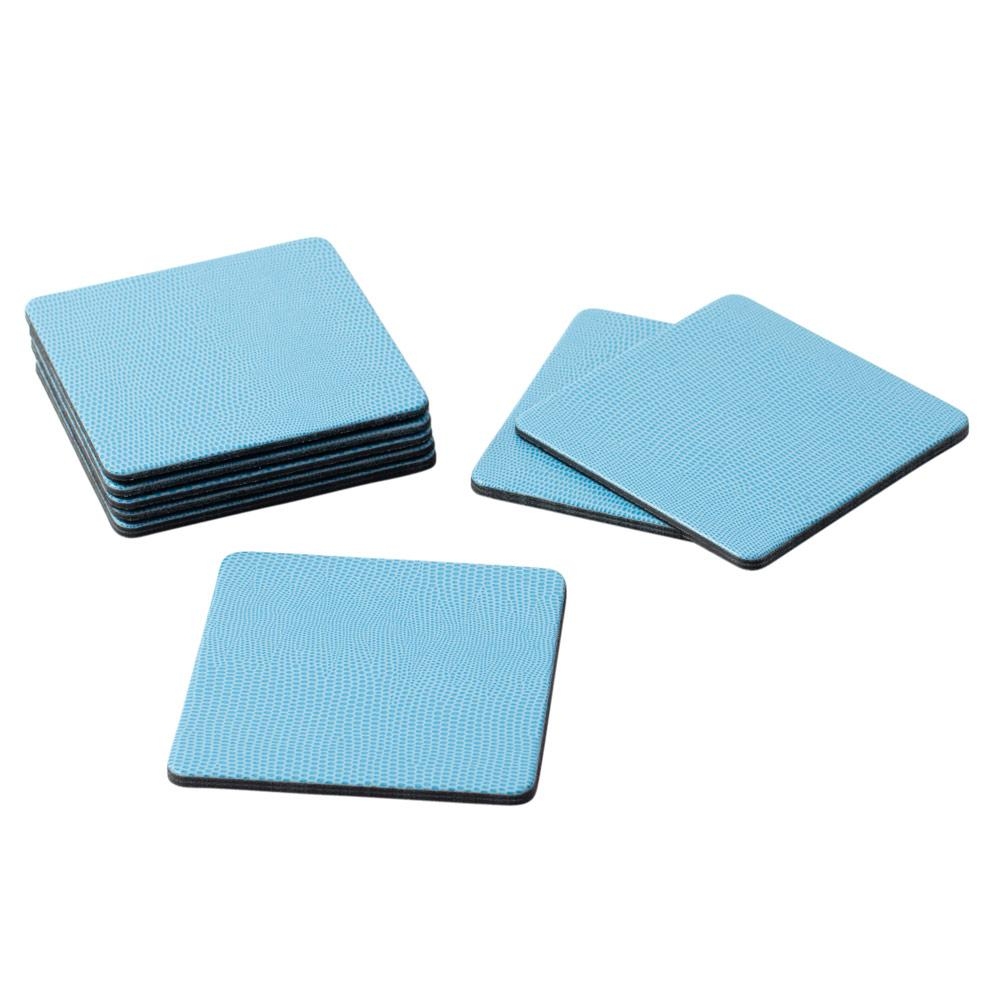 Lizard Coasters, Light Blue