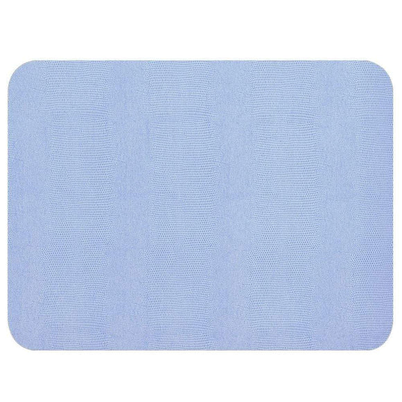 Lizard Placemats, Light Blue