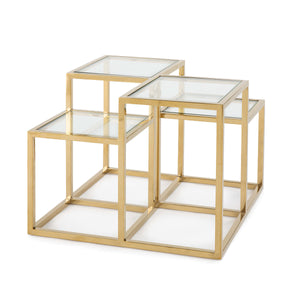 Astoria Side Table (Gold)
