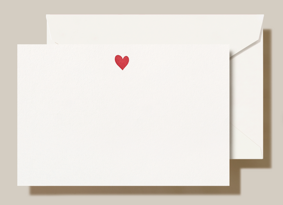 Letterpress Sweet Heart Cards