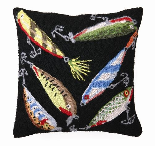 Lures Hook Pillow 16