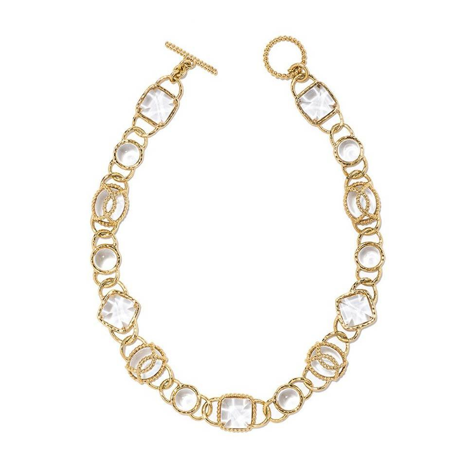 "Blandine 18"" Necklace, Ice"
