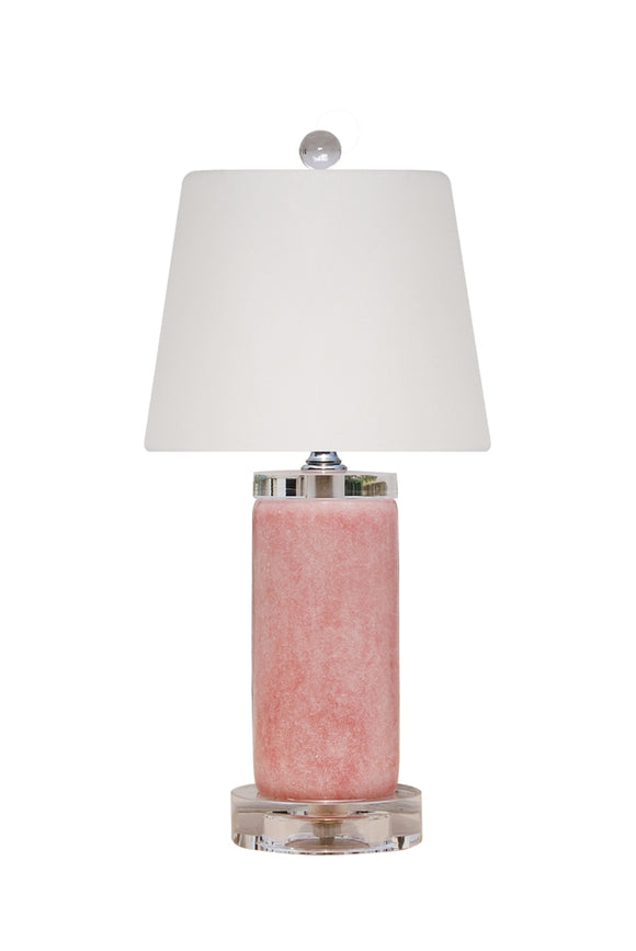Rose Quartz Lamp & Shade