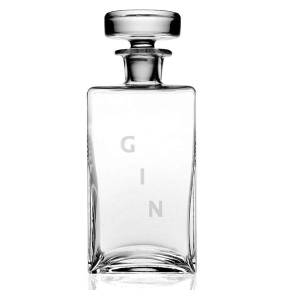 Lillian Square Decanter- Gin
