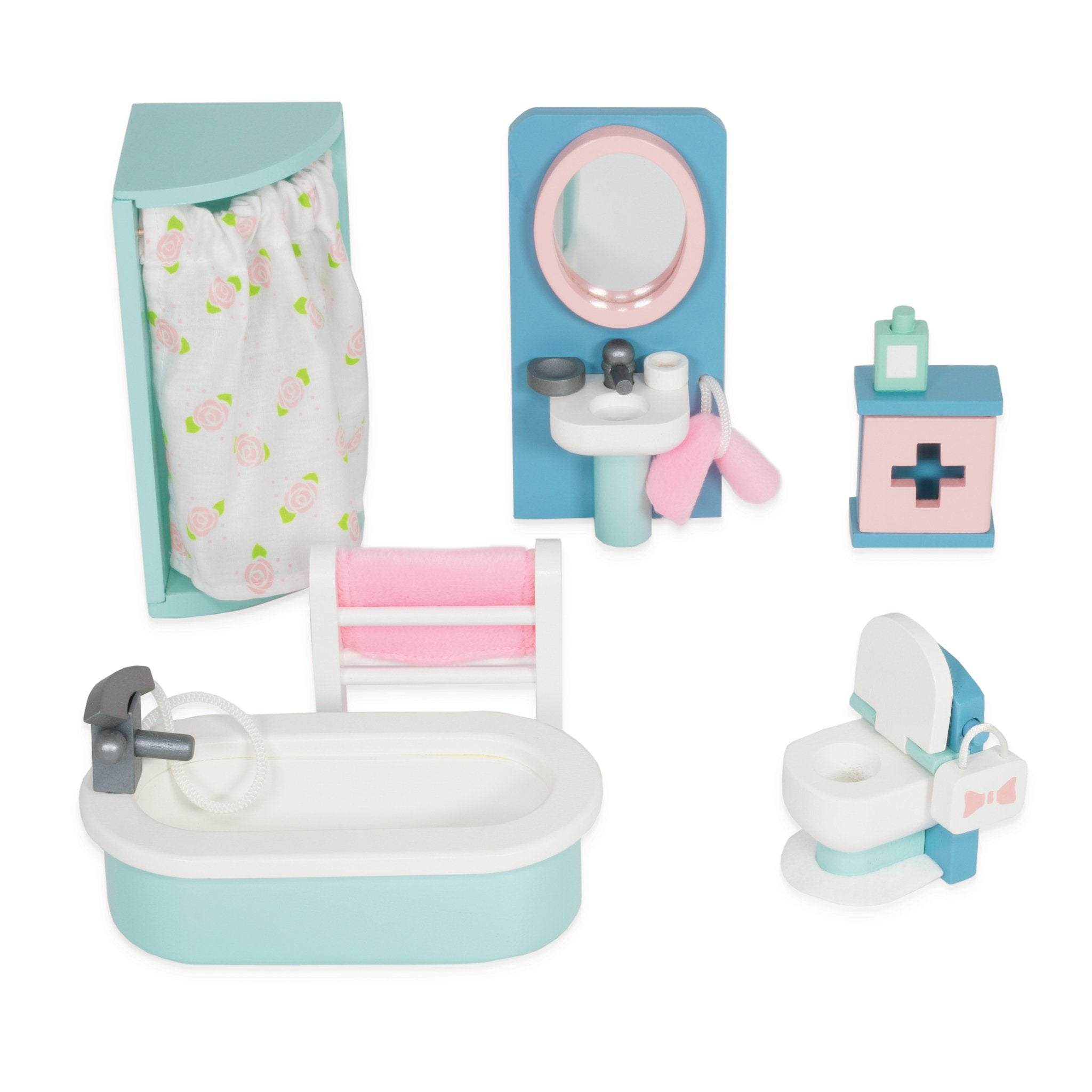 Daisylane Bathroom Wooden Dollhouse Furniture