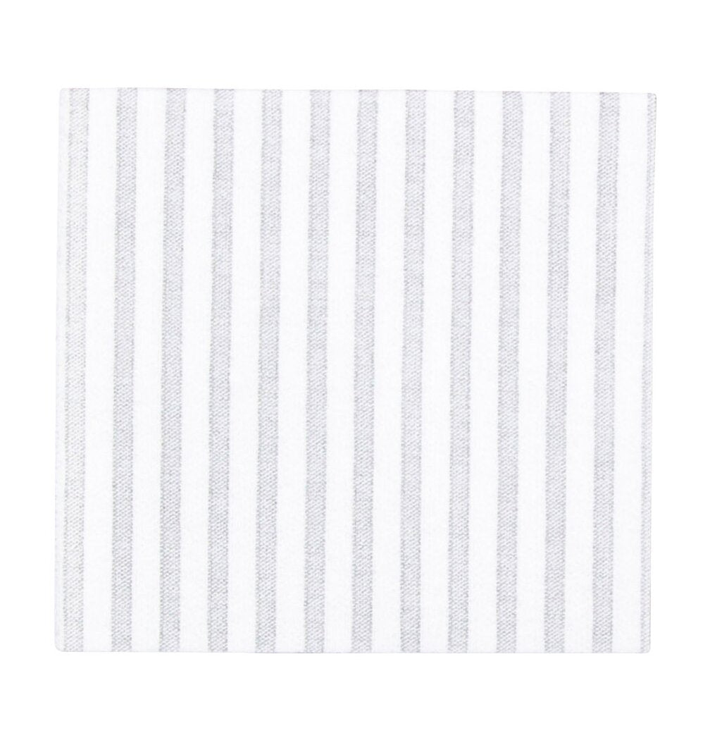 Capri Light Gray Cocktail Napkins, Papersoft