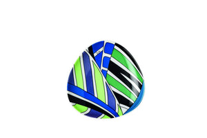Pucci Collection - Bowl 4 3/4 in Palm Leaves #02