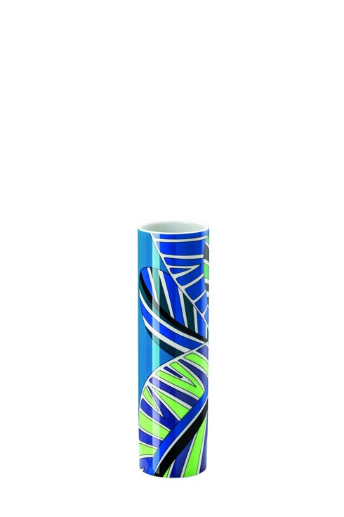 Pucci Collection - Vase 9 in. Palm Leaves #02