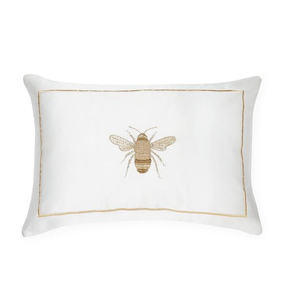Miele Pillow, Snow & Gold