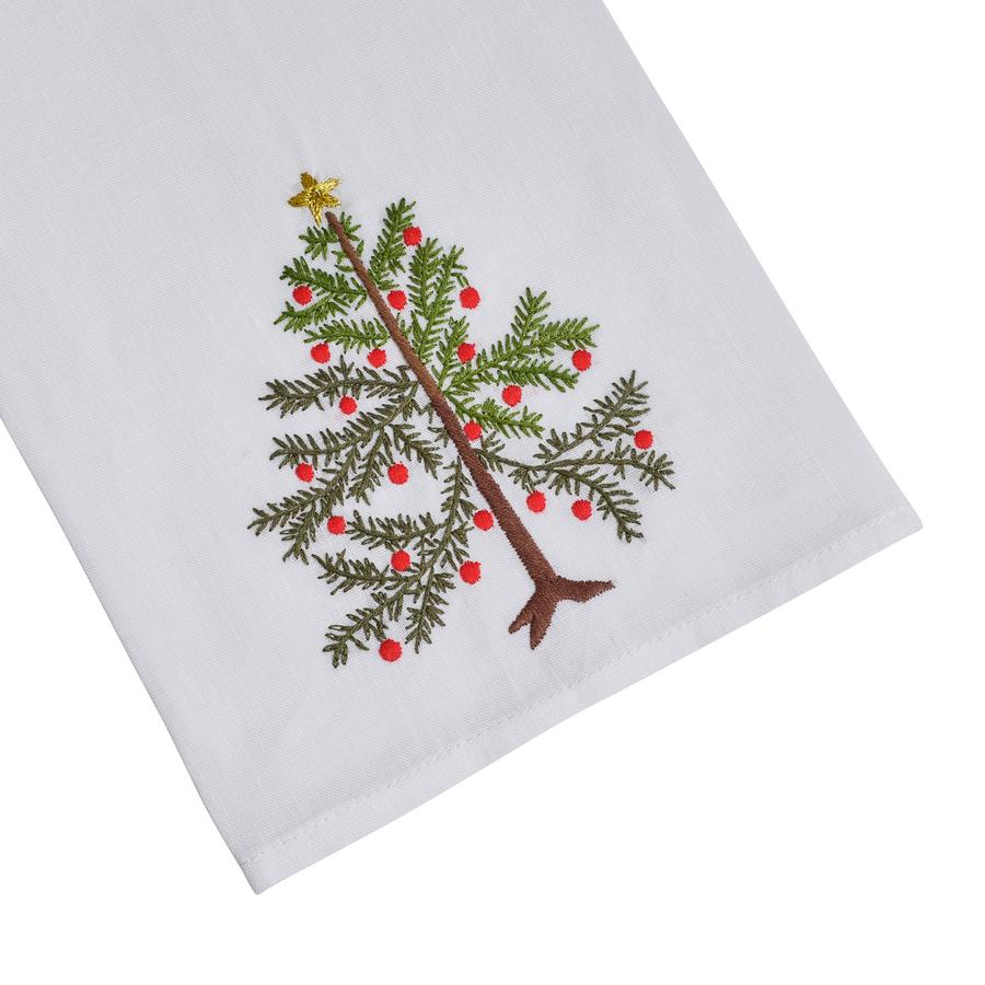 Christmas Tree Tip Towel