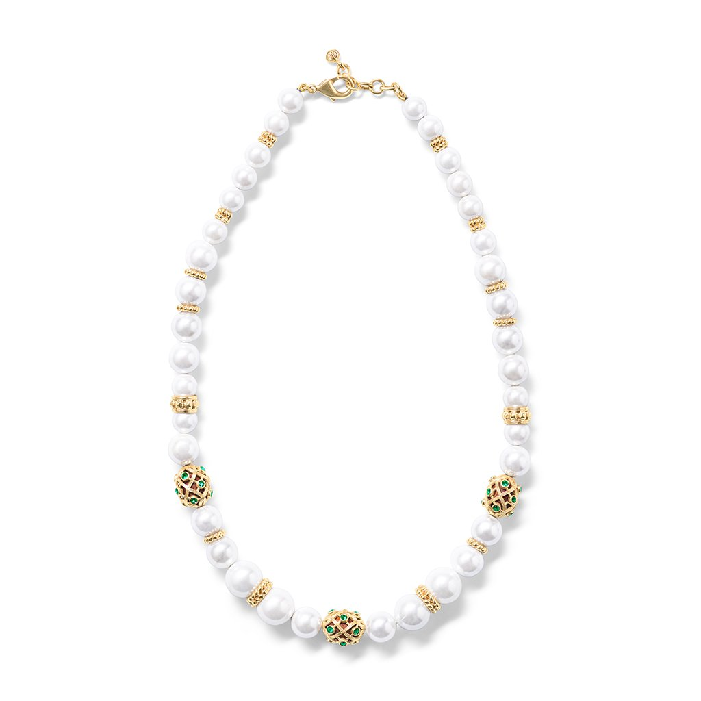 "Elizabetta 18"" Necklace, Pearl"