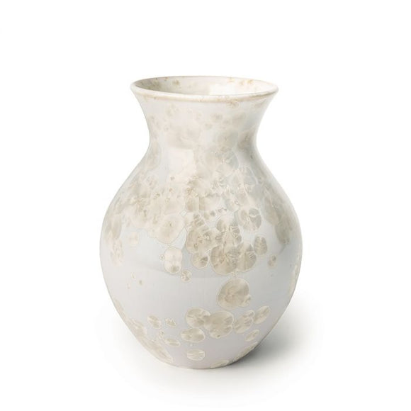 Medium Curio Crystalline Vase Candent