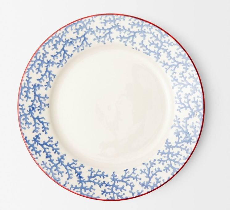 Blue Coral Dinnerware - Dinner Plate