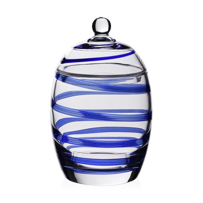 Bella Blue Candy Jar, 8.5""