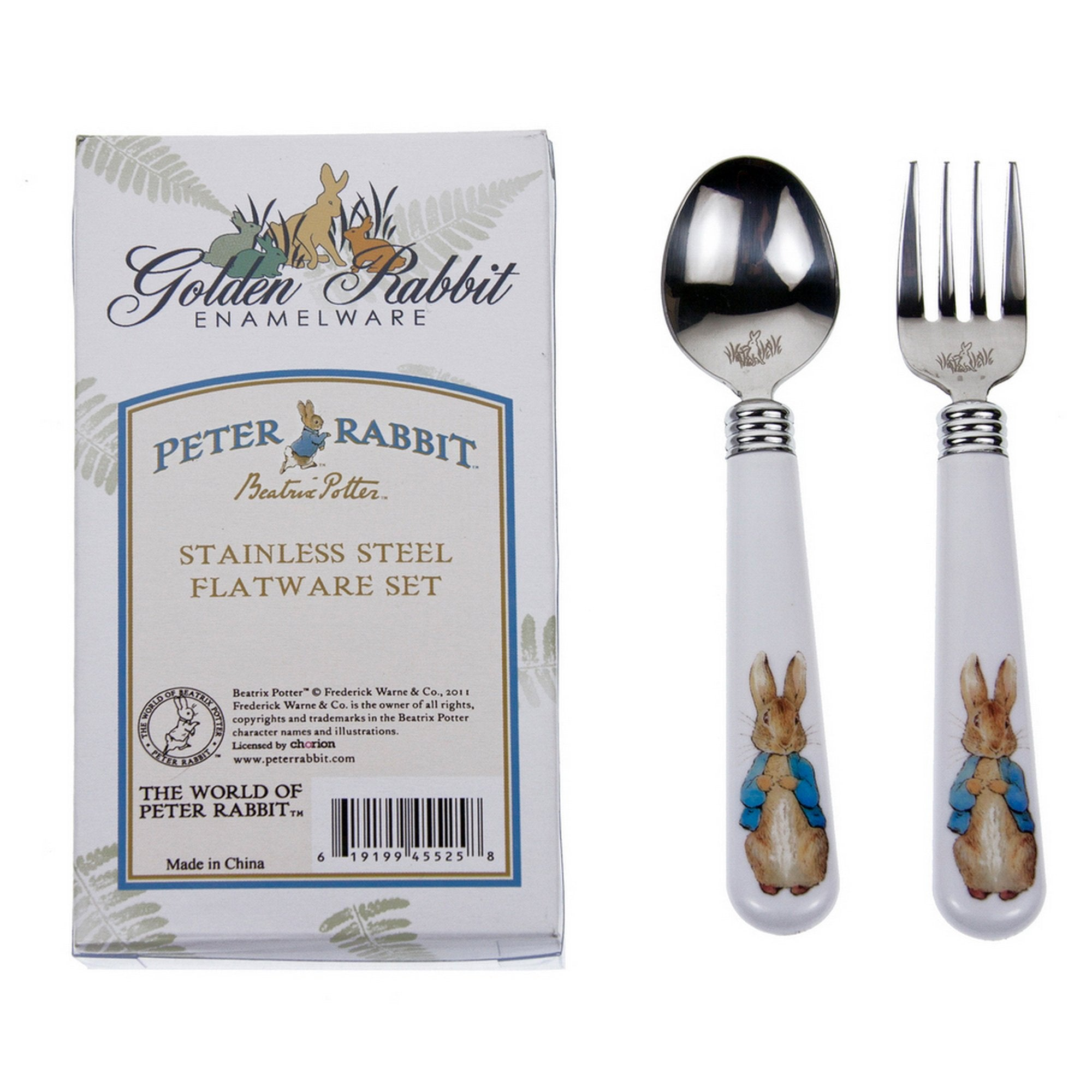 Peter Rabbit Baby Flatware
